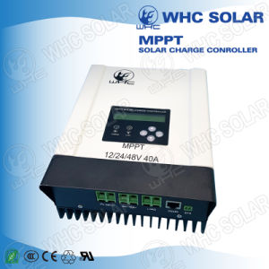LCD Display MPPT Solar Charge Controller 12V/24V/48V 40A pictures & photos