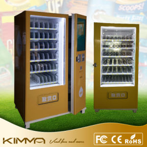 Two Cabinets Vending Machine with Touch Screen Used for Vending Center pictures & photos