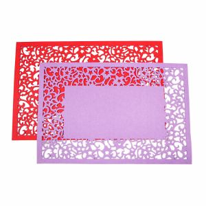 3mm & 5mm Promotional Felt Placemat for Tabletop and Christmas Decorations pictures & photos