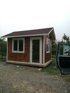 Wooden Structure Container Prefabricated House pictures & photos