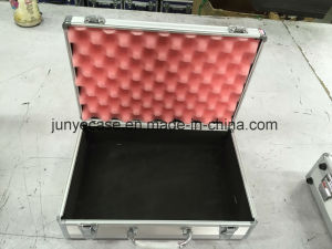 Grey Aluminum Case with Pink Foam pictures & photos