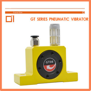 China NSK Bearing Aluminum Body Gt-36 Test Vibrator Concrete Pneumatic Turbine pictures & photos