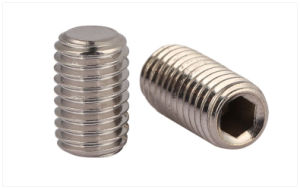 Stainless Steel Socket Set Screw with Flat Point pictures & photos