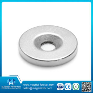 Permanent Rare Earth Ring Round Neodymium NdFeB Magnet for Motors pictures & photos