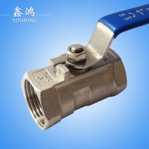 1PC 304 Stainless Steel Ball Valve Dn15 pictures & photos