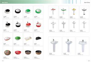 China New Design Classic Pedestal Basin (CE-D304) pictures & photos