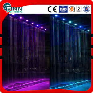 2m Color Changing Stainless Steel Water Curtain pictures & photos