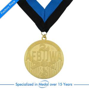 Custom Wholesale Souvenir Sport Medal with Ribbon pictures & photos