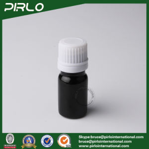 5ml Black Essential Oil Glass Bottles with White Screw Cap pictures & photos