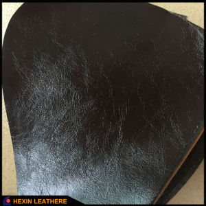 Glossy Synthetic PU Leather for Indoor Sofa Making Hx-F1747 pictures & photos