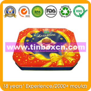 Octagonal Metal Gift Box for Chocolate Candy, Gift Tin Box pictures & photos
