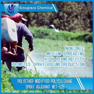 Polyether Modified Polysiloxane Spray Adjuvant (WET-628) pictures & photos