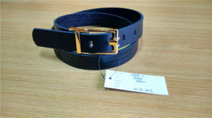 Fashion Women′s PU Belt with Reversible Buckle pictures & photos