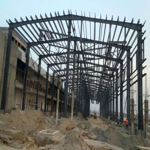 Two-Storey Industrial Steel Frame Building with Durable Structure pictures & photos