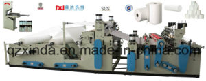 Toilet and Kitchen Towel Roll Lamination Production Machine pictures & photos