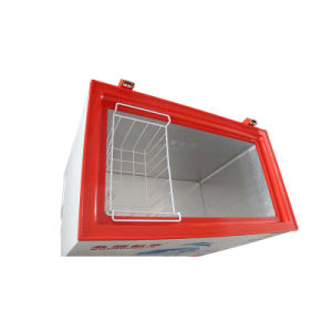 Highly Recommened Good Sealing Top Open Single Door Chest Freezer pictures & photos