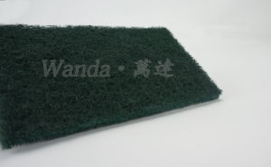 Hard and Durable Abrasive Kitchen Cleaning Product Scrubber Pad pictures & photos