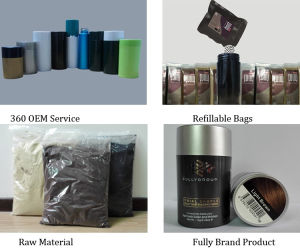Keratin Hair Fiber Hair Building Fiber for Hair Treatment pictures & photos