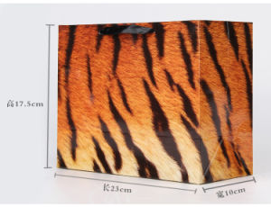 Fashion Leopard Grain Paper Gift Bags pictures & photos