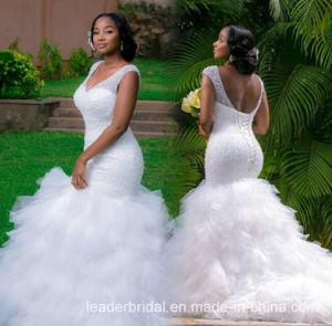 Rhinestones Bridal Ball Gown Tulle Mermaid Wedding Gowns W52207 pictures & photos