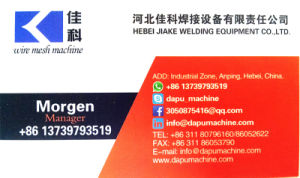 Reinforcing Concrete Wire Mesh Welding Machine Made in China pictures & photos