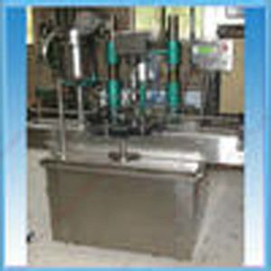 Threaded Automatic Glass Jar Capping Machine pictures & photos
