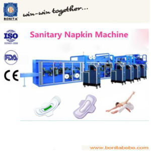 Full-Automatic Sanitary Napkin Machinery (BNT-SN-08) pictures & photos