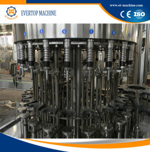 PLC Control Automatic Glass Bottle Filling Machine 3in1 pictures & photos