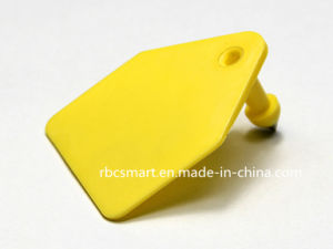 RFID Animal Ear Tag TPU Material Lf Em4305/Hitag-S526 Electronic Tag pictures & photos