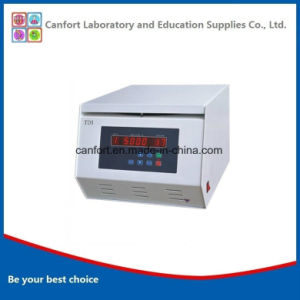 Medical Equipment 5000rpm Tabletop Low Speed Large Capacity Centrifuge Td5a pictures & photos