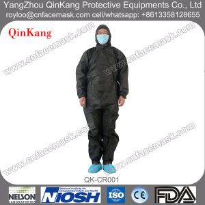 Non-Woven SMS Cleanroom Protective Coverall pictures & photos