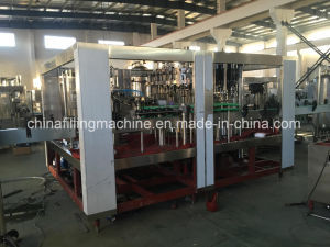 Carbonated Cola Mixing Tank and Filling Machine with Ce pictures & photos