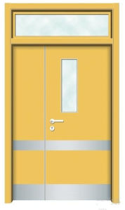 FM & UL Certificate Fire Rated Door with 1.5 Hours Fire Reted (Hz-FCFR0210) pictures & photos