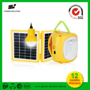 Home Lighting Portable Solar Lantern with Hanging Bulb pictures & photos