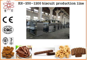 Kh 400 Soft and Hard Biscuit Production Line Machine pictures & photos