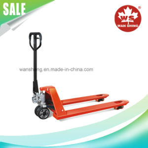 One-Piece Cast Pump 2000-3000kg Hydraulic Hand Pallet Truck pictures & photos
