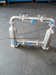 Stainless Steel Double Inline Strainer pictures & photos