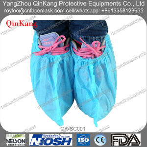 Disaposable Non Woven PP/PE/CPE Waterproof Shoe Cover pictures & photos