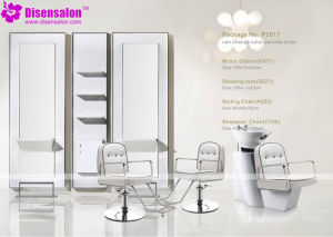 Popular High Quality Salon Furniture Mirror Barber Salon Chair (P2017E) pictures & photos