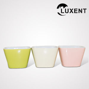 Wholesale Porcelain Bakeware Colorful Cake Tin Square pictures & photos