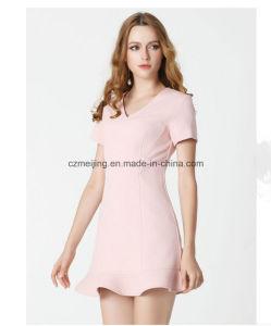 Wool V-Necked Fishtail Women`S Skirt