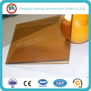 6mm Golden Bronze Reflective Glass with Best Quality pictures & photos