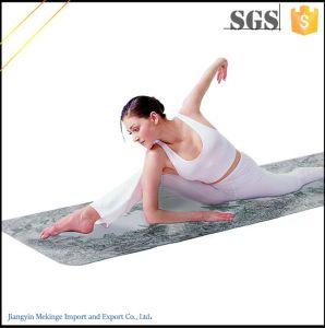 Tasteless TPE Yoga Mat Custom Printed pictures & photos