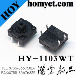 High Quality 12*12mm Waterproof Tact Switch with DIP Type pictures & photos
