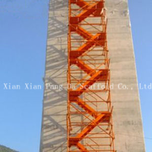 Safety Scaffolding Step Ladders Cage pictures & photos