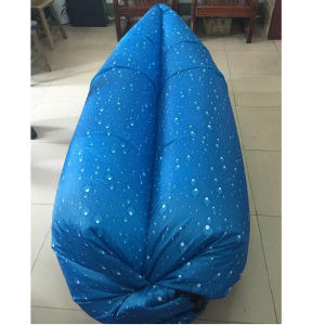 Outdoor Air Bag Camouflage Portable Beach Inflatable Bed Sleeping Bag pictures & photos