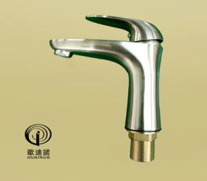 New Style Single Lever Basin Faucet&Bibcock with Brush Plated 701011 pictures & photos