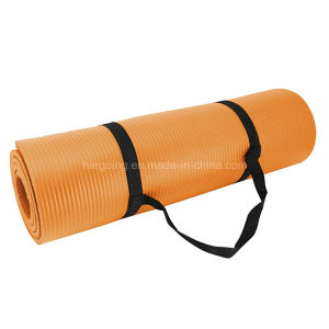 Waterproof Non-Slip NBR Yoga Mat 10mm Wholesale Yoga Mat pictures & photos