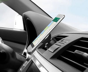 360 Degree Universal Car Holder Magnetic Air Vent Mount Smartphone Dock Mobile Phone Holder Cell Phone Holder Stands for iPhone pictures & photos