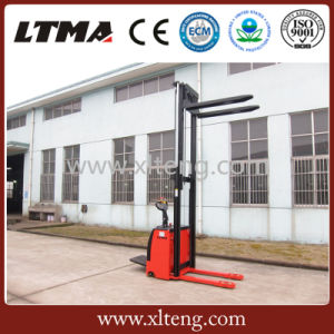 China Wholesale Stacker 1.5 Ton Walkie Full Electric Pallet Stacker pictures & photos
